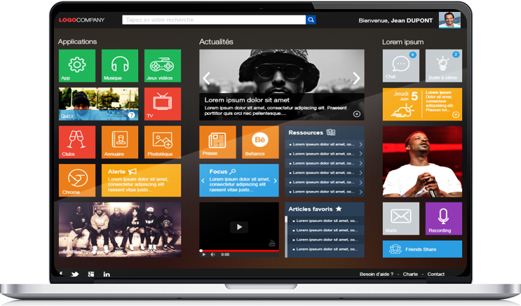 Intranet pour la communication interne