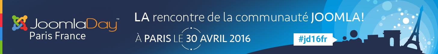 Allez au JoomlaDay Paris 2016