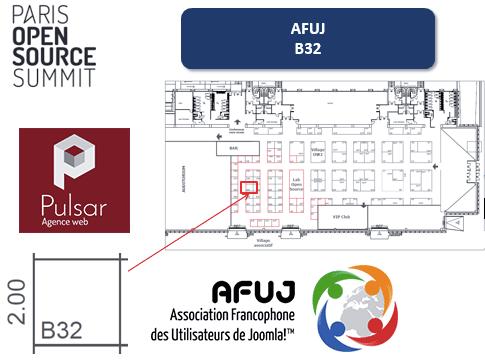 Stand de l 39 afuj au salon open source summit 2015 for Salon open source